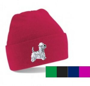 9db7a99f055 West Highland White Terrier Beanie Hat Perfect Gift Embroidered by ...