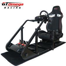 Simulador de arte GT Omega cabina RS9 para Logitech G27, G29, G920 Rueda, Playseat
