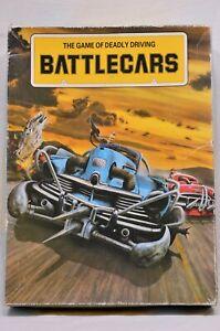 Vintage Battlecars Board Game by Games Workshop 1983