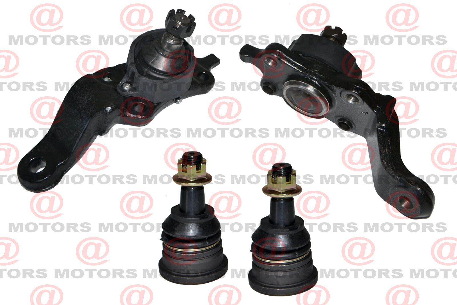upper and lower ball joint replacement set suspension for toyota tundra sequoia ebay. Black Bedroom Furniture Sets. Home Design Ideas