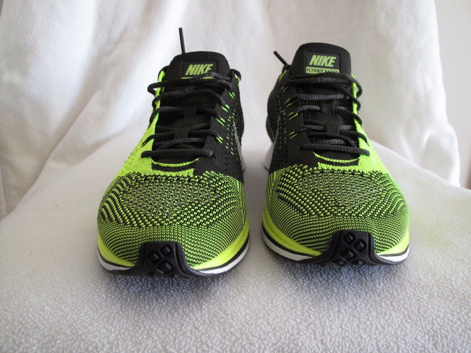 Nike Flyknit Racer 526628721 Volt Black Sequoia, size US 9,5 RARE 2012