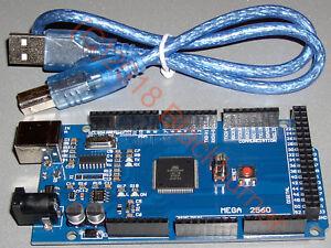 1-2x-Mega-R3-Atmega-2560-Entwicklungsboard-CH340G-Arduino-UNO-Rev-3-kompatibel