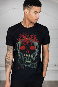 Official-Chelsea-Grin-Skull-Bite-Unisex-T-Shirt-Evacuate-Underwraps-Alternative
