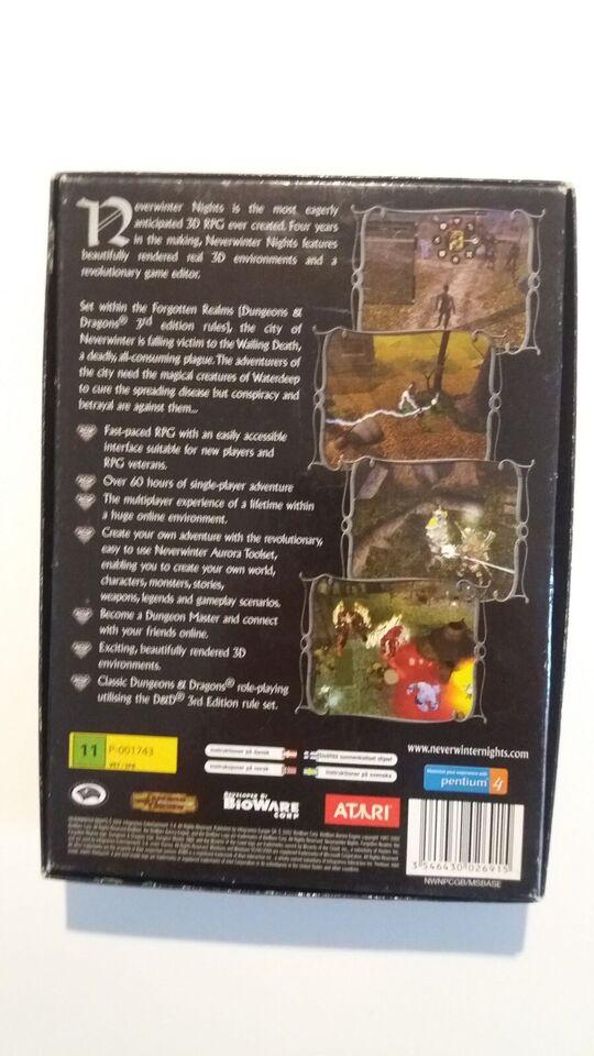 PC-Spil Neverwinter Nights 2002, til pc, action