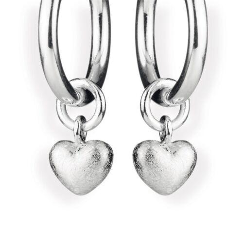 """Heartbreaker einhängerpaar /""""Herz/"""" aus 925 Silber für style /& co Creolen"""