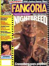 FANGORIA MAGAZINE #90 NIGHTBREED, SAM RAIMI, FRANKENHOOKER, JESS FRANCO