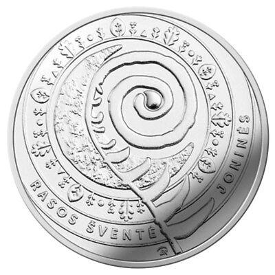 """Rasos/"""" UNC Lithuania 1.5 euro 2018 /""""Jonines"""