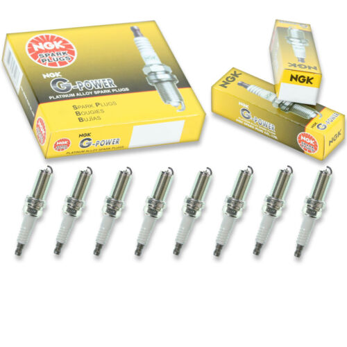 8 pc 8 x NGK G-Power Plug Spark Plugs 5018 LFR5AGP 5018 LFR5AGP Tune Up Kit dm