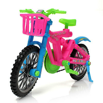 Kids Plastic Colorful Bike Bicycle Assembly DIY Creative Toy With Repair Tools