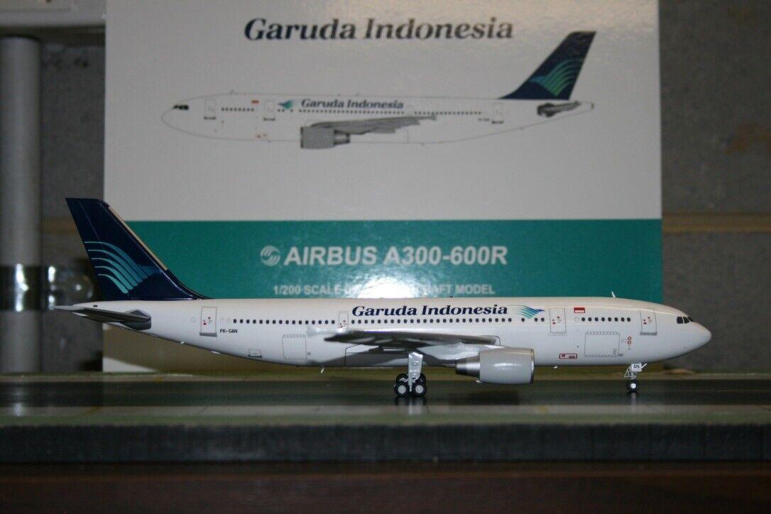 JC Wings 1 200 Garuda Indonesia Airbus A300-600 PK-GAN (LH2069) Model Plane