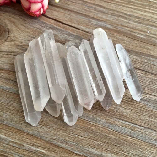 New Natural Clear Quartzs Crystal Points Terminated Mini Pieces 50g Lot UK