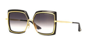 Dita-Narcissus-Black-and-Gold-Sunglasses-Brown-Gradient-Lens-DTS503-58-BLK-GLD