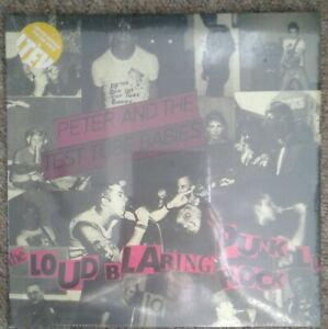 Peter-And-The-Test-Tube-Babies-Loud-Blaring-Punk-Rock-LP-Yellow-Vinyl-Sealed