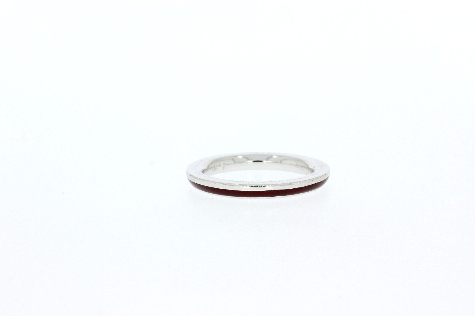 9104-585er whitegoldring Emailiert Ringgroße 56 Breite 2,9 mm Gewicht 5,5 Gramm
