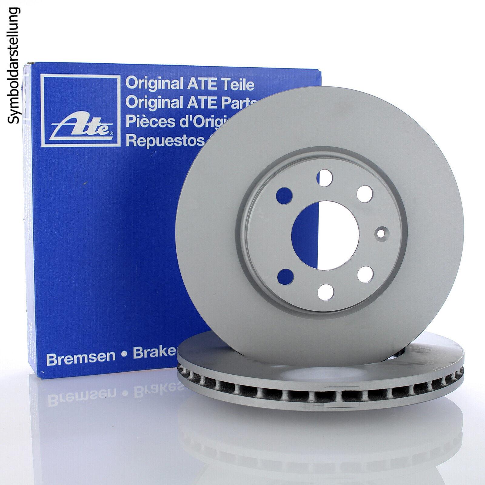 24.0125-0108.1 2x Bremsscheibe Bremse ATE