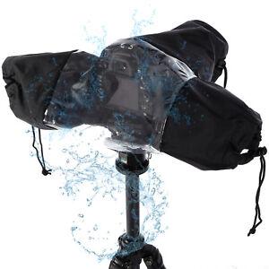 Universal-Coat-Dust-Rain-Cover-Waterproof-Rainproof-for-Camera-CANON-NIKON-D-SLR