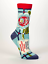 Blue Q Women/'s Crew Socks You/'re Compulsively Awesome You/'re Not Obsessive