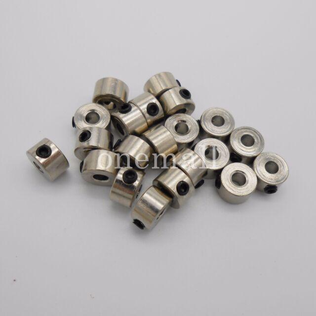 10PCS 3.05MM Bushing Axle Shaft Sleeve Stainless Steel für M3 RC DIY