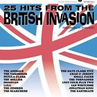 25 Hits from the British Invasion by Various Artists (CD, Jul-2002, Varèse Vintage)