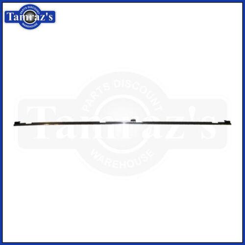 81-87 Regal Trunk Deck Lid Edge Anodized Chrome Trim Molding NEW Reproduction