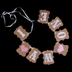 Jahrgang-1st-Birthday-Party-Bunting-Banner-Baby-Girl-Pink-Dekoration-ich-bin-R5