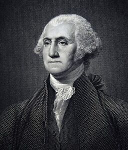 photograph relating to Printable Pictures of George Washington known as 1852 Samuel Walker Print - George Washington - Portrait