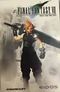 Final-Fantasy-VII-Eidos-Squaresoft-1998-pc-cd-rom-computer-game-TESTED-VERY-RARE
