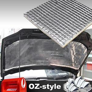 Car-Heat-Muffler-Insulation-Resistant-Shield-Sound-Deadener-Aluminum-Foil-6mm-OZ