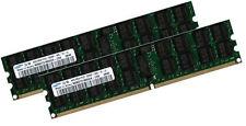 2x 4GB 8GB ECC RAM Speicher für Dell PowerEdge 6950 M605 667 Mhz Registered