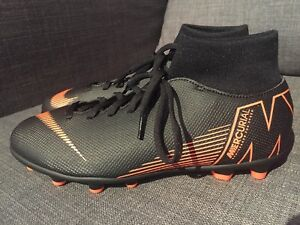 competitive price 00a2f d5d73 Details about Nike Mercurial Superfly 6 Club MG Black Soccer Cleats  AH7363-081 Mens Size 5