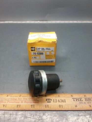NOS Genuine Caterpillar CAT 7E5380 7E-5380 Oil Fill Cap Assembly FREE SHIPPING