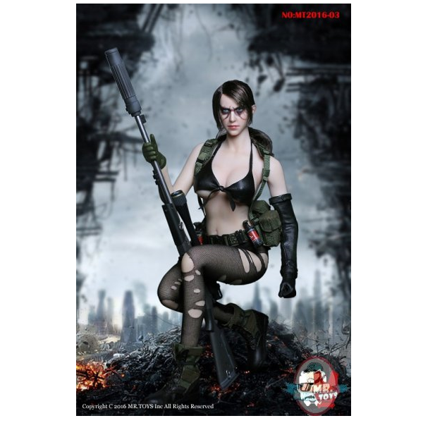Mr Toys 1/6 Scale Fighting Makeup Sexy Sniper Figure MT-2016-03B