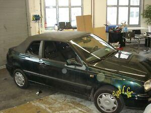 VW Golf 3 III Cabrio Verdeck Reparatur Set Repair Kit 1,5 Meter lang in PVC