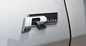 Rline-Emblem-Volkswagen-GOLF-Beetle-Polo-CC-Touareg-Tiguan-Passat-Scirocco-Jetta