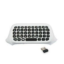 2.4G Mini Wireless Chatpad Message Keyboard Weiß für Xbox One Slim Controller