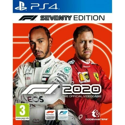 F1 2020 SEVENTY EDITION PLAYSTATION 4 WITH STEELBOOK