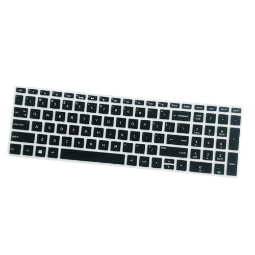 Rubber Anti-Dust Keyboard Silicone Skin Film For HP 15.6 inch BF Black