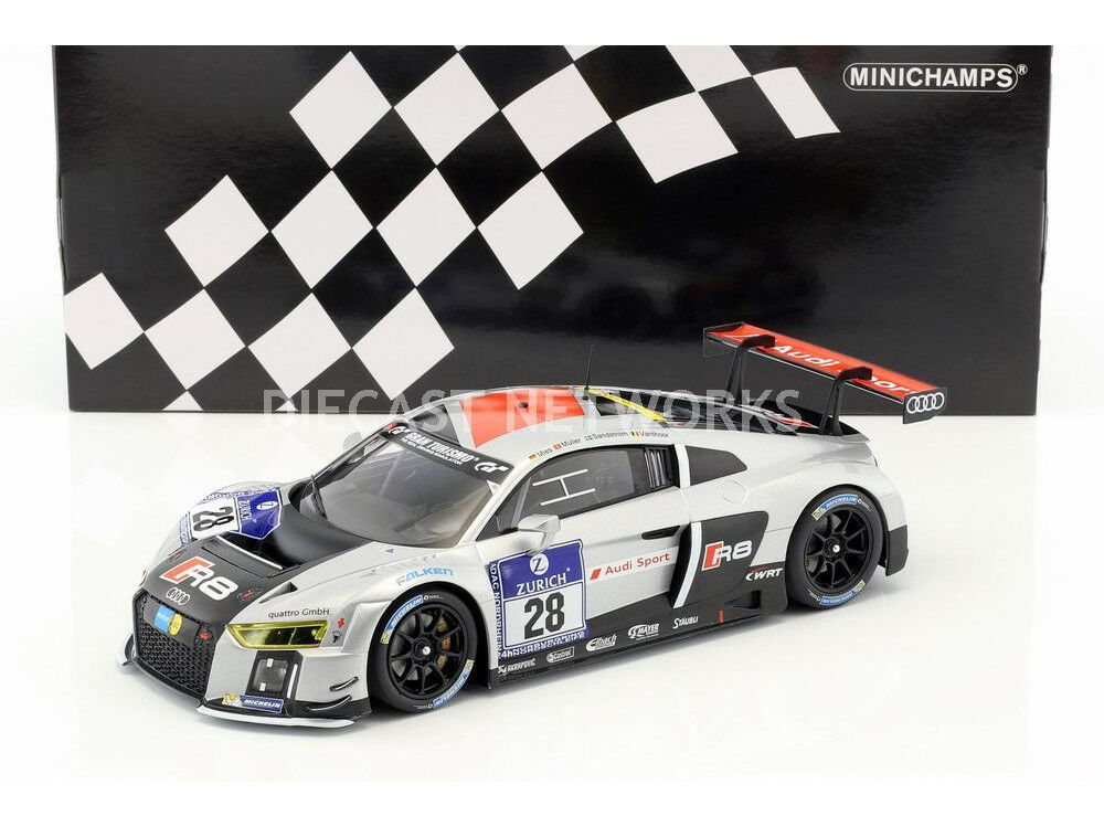 Minichamps Audi R8 LMS Ultra Winner 24h Nuerburgring 2015  18 LE of 350 New