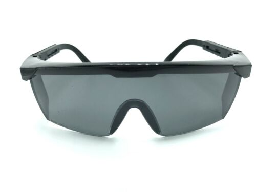 SPORT SHOOTING HUNTING SAFETY BIKE CAMP OUTDOOR GLASSES BLACK PROTECTIVE GOGGLE