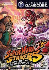 USED Super Mario Strikers Japan Import GAME CUBE