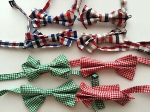 Cute-Boys-Kid-Children-baby-Party-Pre-tied-Cotton-Wedding-bow-tie-Necktie-bowtie