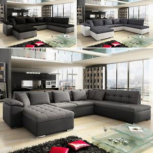ecksofa schlaffunktion eckcouch nina aktionspreis modern. Black Bedroom Furniture Sets. Home Design Ideas