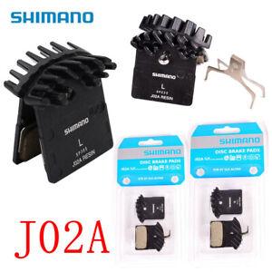 Shimano-J02A-Resin-Cooling-Fin-Ice-Tech-Disc-Brake-Pads-XT-XTR-SLX-Deore-as-F01A