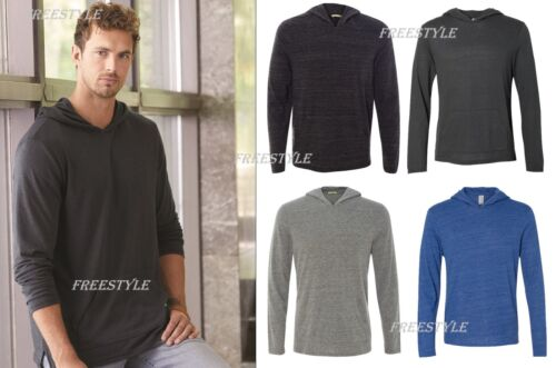 12365 Eco-Jersey™ Marathon Men/'s Hooded Pullover T-Shirt Alternative