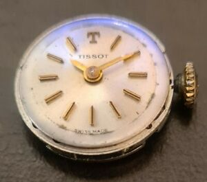 Movimento orologio Svizzero Tissot calibro 709 funzionante con corona originale