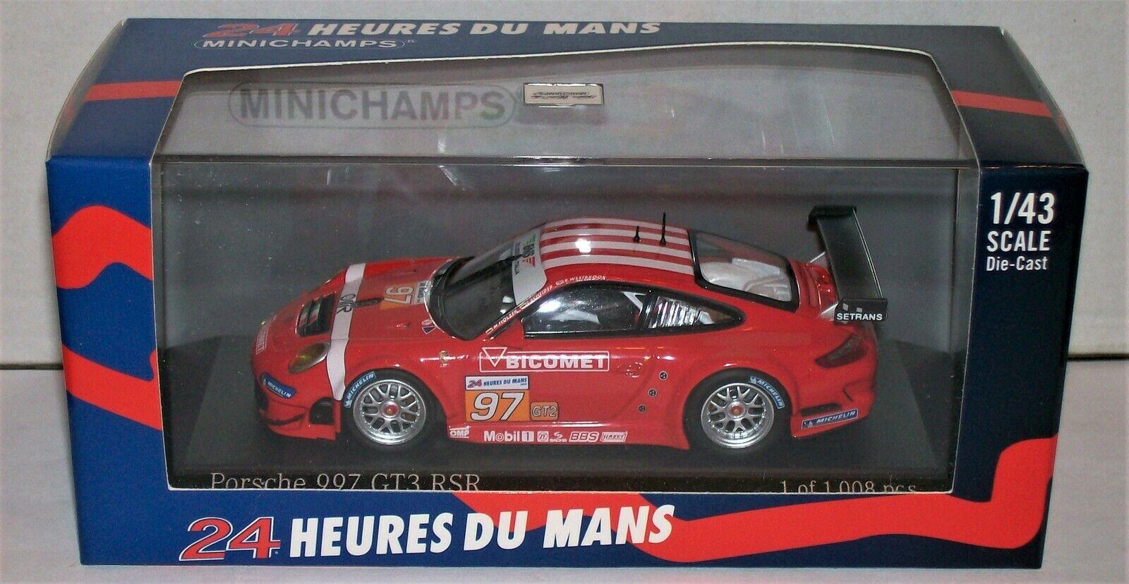 Porsche 997 GT3 RSR 2010 LMGT2 3rd Place BMS Scuderia Scuderia Scuderia Italia 1 43 410106997 a28f0c