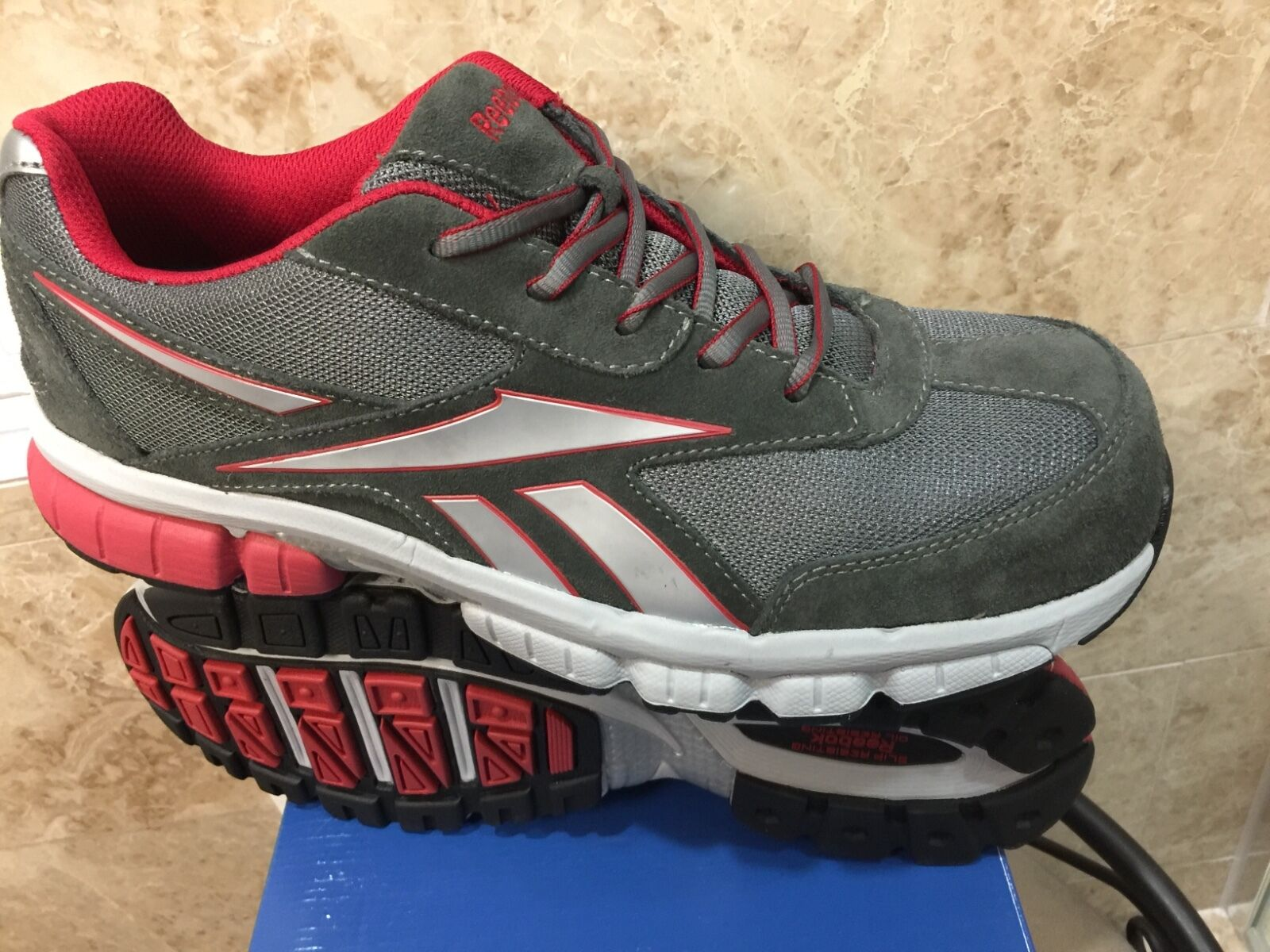 Reebok ASTM safety composite toe work steel turnover EH rated 4890 RB4890