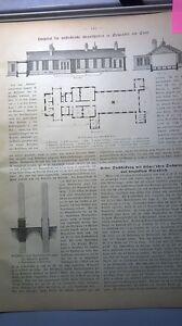 Intelligent 1885 17 Newcastle Hospital Hôpital Pour Maladies Contagieuses-afficher Le Titre D'origine Remise En Ligne