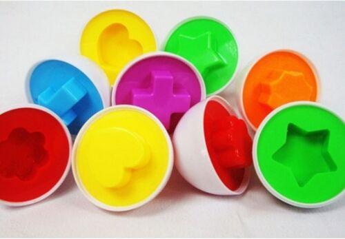 6 pcs Boy Eggs Toy Gift Wooden Yolk Pretend Play Kitchen Food Cooking Set Kids I