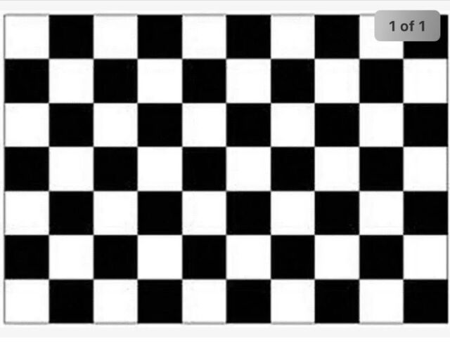 RACING CAR FLAG 5/' x 3/' Black /& White Checkered Formula One F1 Cars For Sale